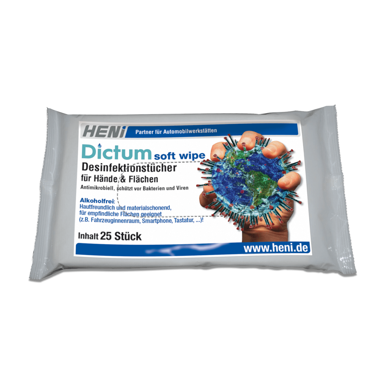 Desinfektionstücher Dictum soft-wipe (MB 6) Bild 1