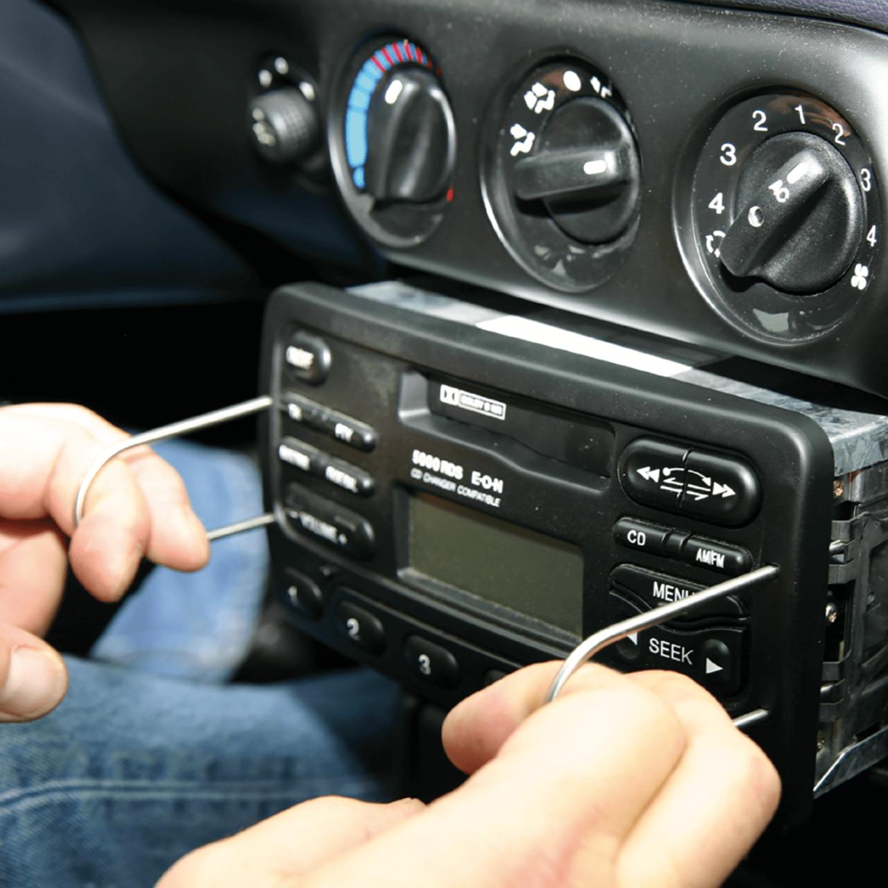 Radio-Ausbauwerkzeug-Satz Bild 2