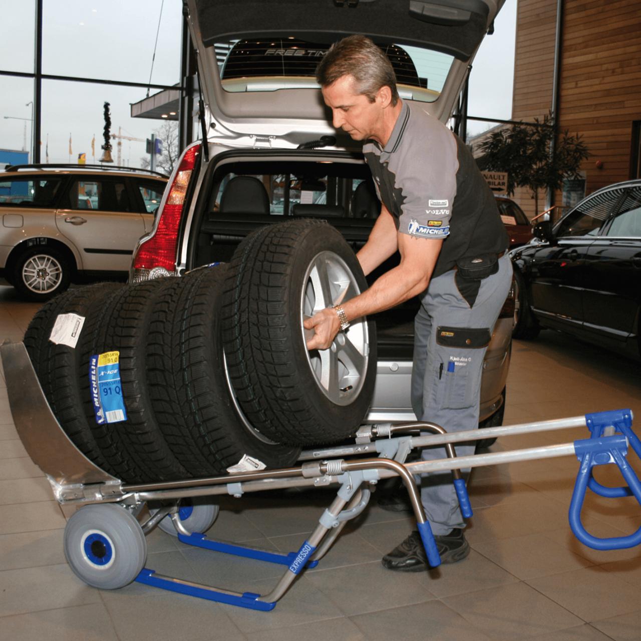 Reifen-Transportkarre Bild 3