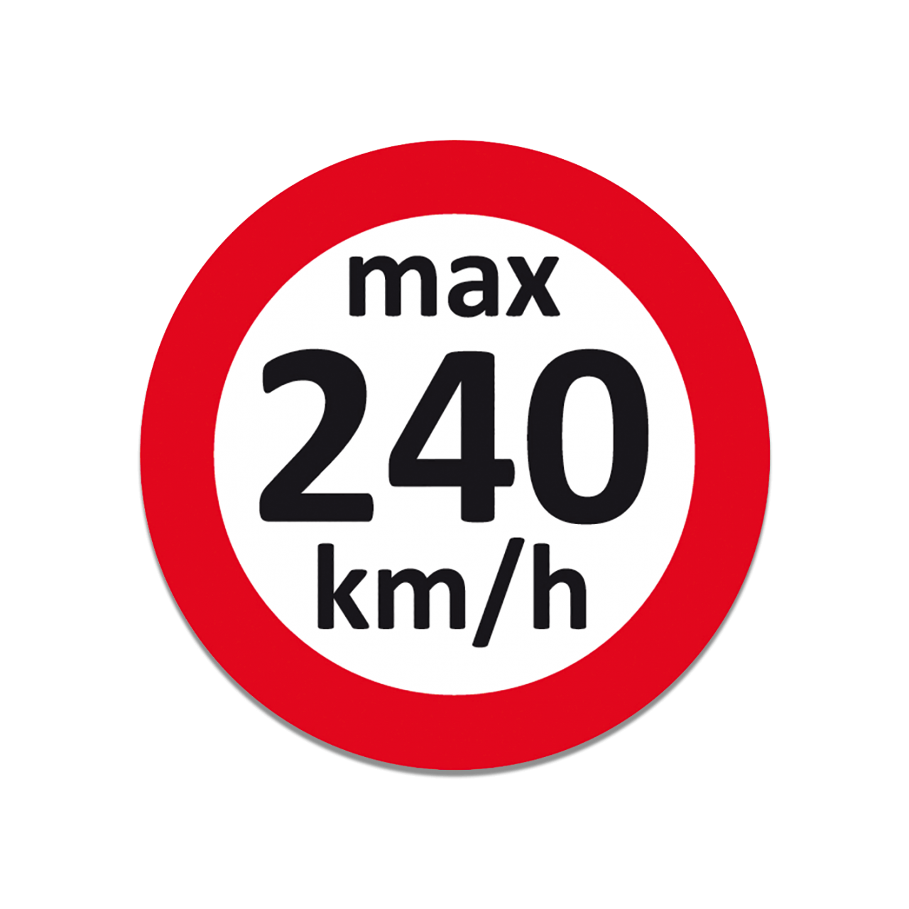Geschwindigkeits-Aufkleber Bild 1