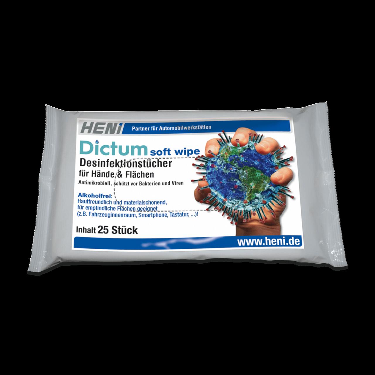 Desinfektionstücher Dictum soft-wipe (MB 6)