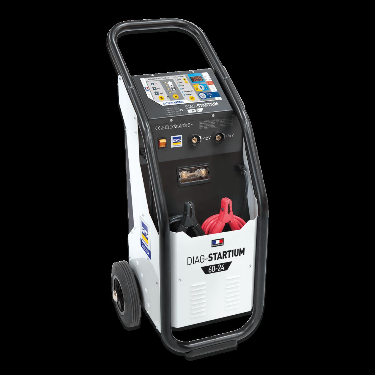 Batterielade- und Startgerät