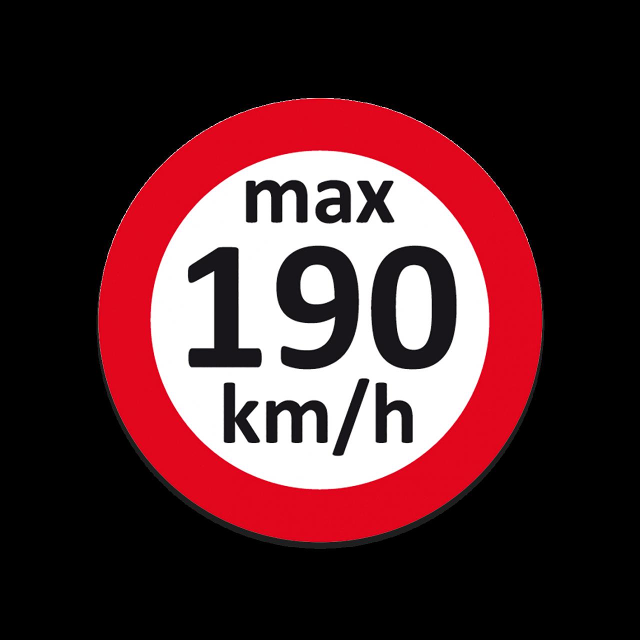 Geschwindigkeits-Aufkleber