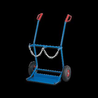 Stahlflaschen-Wagen