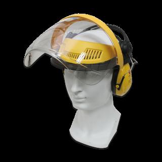 Gesichts-/Gehörschutz